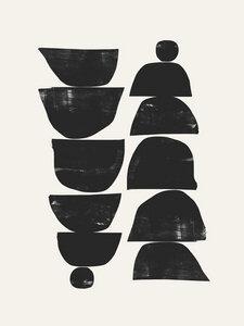 Minimal Plant - Poster von Dan Hobday - Photocircle