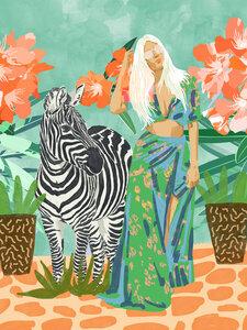 Never Change Your Stripes - Poster von Uma Gokhale - Photocircle