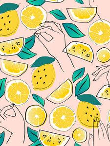 In Lemons We Trust - Poster von Uma Gokhale - Photocircle