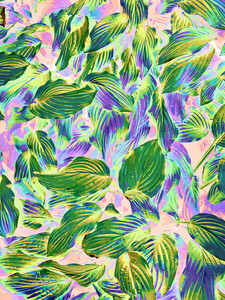 Happy Leaves - Poster von Uma Gokhale - Photocircle