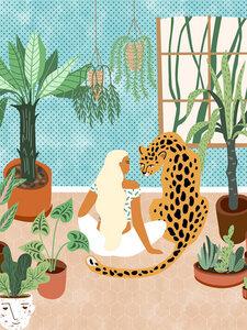 Urban Jungle - Poster von Uma Gokhale - Photocircle