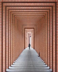 Tunnel of light - Poster von Roc Isern - Photocircle