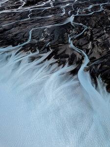 Glacial Rivers - Poster von Frida Berg - Photocircle