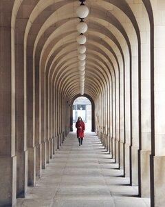 Archway row - Poster von Roc Isern - Photocircle