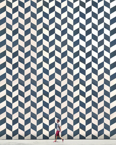 Patterned wall - Poster von Roc Isern - Photocircle