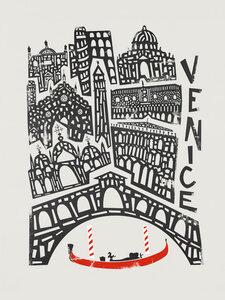 Venice Cityscape - Poster von Fox And Velvet - Photocircle