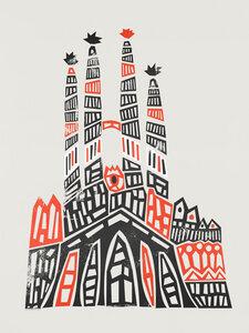 Sagrada Familia - Poster von Fox And Velvet - Photocircle