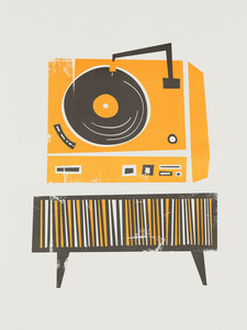 Vinyl Deck - Poster von Fox And Velvet - Photocircle