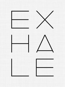 Exhale - Poster von Vivid Atelier - Photocircle