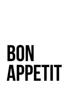 Bon Appetit No5 - Poster von Vivid Atelier - Photocircle