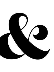 Ampersand - Poster von Vivid Atelier - Photocircle