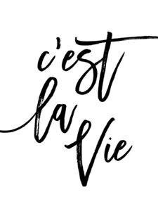 C'est La Vie - Poster von Vivid Atelier - Photocircle