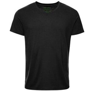 Merino Shirt Herren Kurzarm Regularfit V-Neck 150 - Kaipara - Merino Sportswear