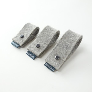 3 Kabelbinder aus Filz für Elektrokabel 'olli' - matilda k. manufaktur