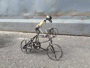 Zündkerzen Figur - Radfahrer:in - Moogoo Creative Africa