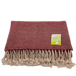 Decke (100% Wolle) im Pfeffer & Salz Muster - Frida Feeling