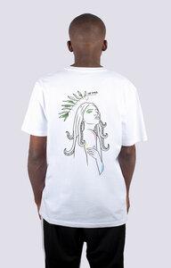 Göttin des Meeres, Männer Premium T-Shirt aus Bio Baumwolle, Back Print - vis wear