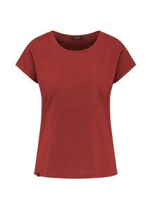 Damen T-Shirt aus Bio Baumwolle rot   Casual T-Shirt - recolution