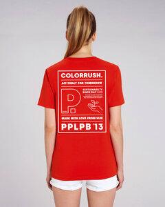 COLORRUSH WOMEN T-SHIRT PRINT - PAPALAPUB