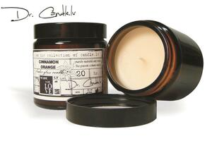 Bernstein-Glas Sojawachs Kerze, 120ml - Duftkerze in verschiedenen Duftrichtungen - GARTDA