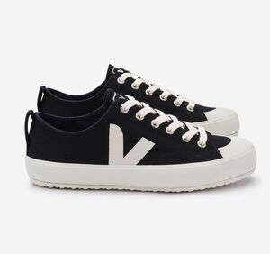 Sneaker Damen Vegan - Nova Canvas - Black Pierre - Veja