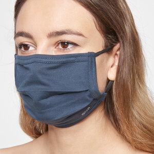Mund-Nasen-Maske aus Bio-Baumwolle mit Nasenbügel - Givn BERLIN