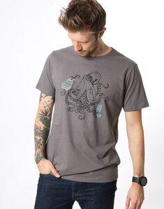 """Bio T-Shirt """"Octopus stone """" - Zerum"""