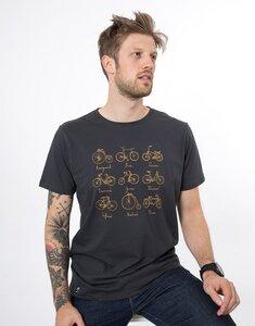 """Bio T-Shirt """"Rädergeschichte arsenic"""" - Zerum"""