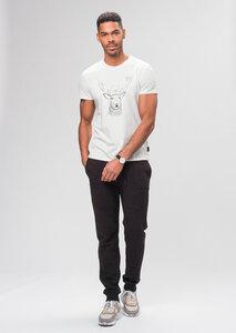 Print Herren T-Shirt aus Bio Baumwolle | Casual T-Shirt #DEER - recolution