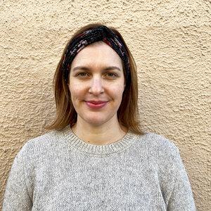 Haarband aus Jerseyprint - ME&MAY