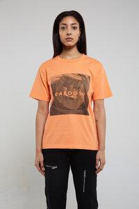 MASKE Lachs - Unisex T-Shirt aus Bio-Baumwolle - KABOOSH