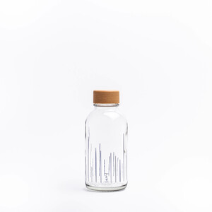 Carry Bottles Glastrinkflasche 0.4l verschiedene Designs - Carry Bottles