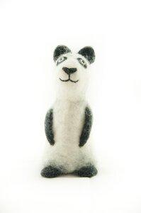 Panda als Filz Eierwärmer - short'n'pietz