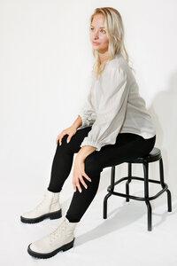 Bluse MASHA aus TENCEL und Baumwolle - WANKA BERLIN