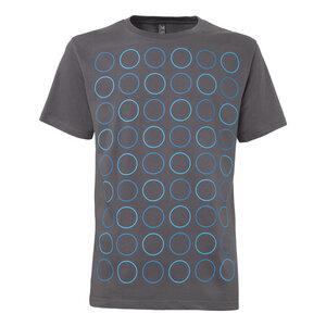 ThokkThokk Twin Polka T-Shirt Man castlerock - THOKKTHOKK