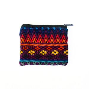 """Täschchen """"Flores"""" - ein handgefertigter Allrounder für Kosmetik, Schmuck oder Geld aus Guatemala - KIKOONI"""
