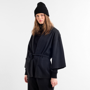 Kimono Jacke Allerum schwarz - DEDICATED