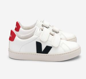 Sneaker Kinder - Esplar Kids Leather - Extra White Nautico Pekin - Veja