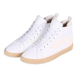 Veganer Sneaker - G-Hela Mid Vegan - White/Offwhite - Genesis Footwear