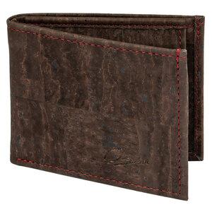 Herren-Geldbörse aus Korkleder mit RFID-Schutz und Münzfach - Simaru
