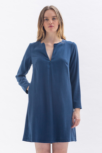 A-Linien Kleid GRE-TA aus Tencel - Studio Hertzberg