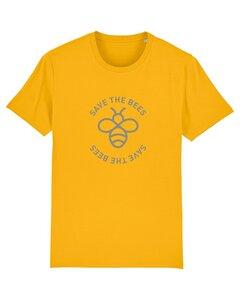 "Unisex T-Shirt aus Bio-Baumwolle ""Save the Bees"" - University of Soul"