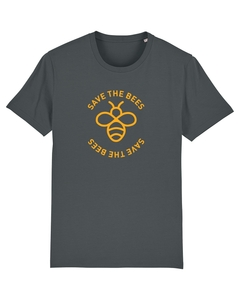 "Unisex T-Shirt aus Bio-Baumwolle ""Save the Bees"" - University of Soul"