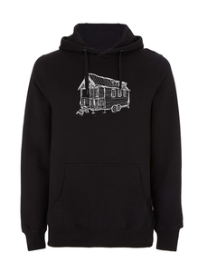 Tiny House UNISEX Hoodie Fair Wear, Bio und Vegan. - ilovemixtapes