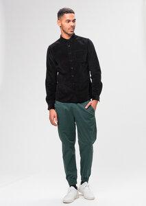 Herren Cord-Hemd aus Bio Baumwolle schwarz | Cord - Hemd - recolution