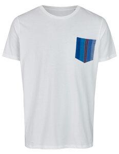 Basic Bio Taschen T-Shirt (men) Azul - Brandless