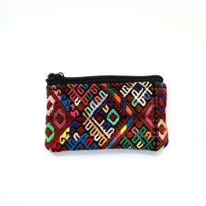 """Täschchen """"Pouchito"""" - ein handgefertigter Allrounder für Kosmetik, Schmuck oder Geld aus Guatemala - KIKOONI"""