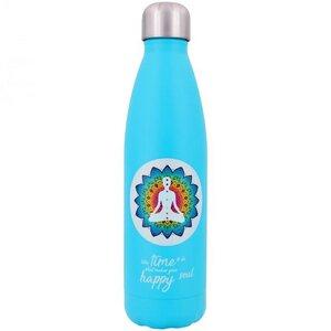 Edelstahl Thermoflasche Yoga 500ml - Dora