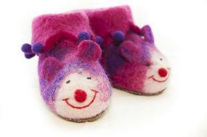 Filz Mäuse Hausschuhe für Kinder - short'n'pietz