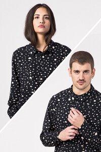 "Unisex Hemd ""Palash"" print - [eyd] humanitarian clothing"